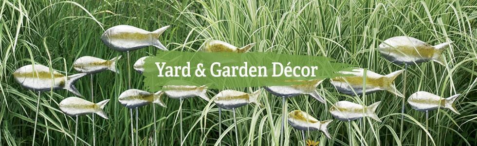 Garden Decor - Yard and Garden Art - Free Shipping on $99+ Orde