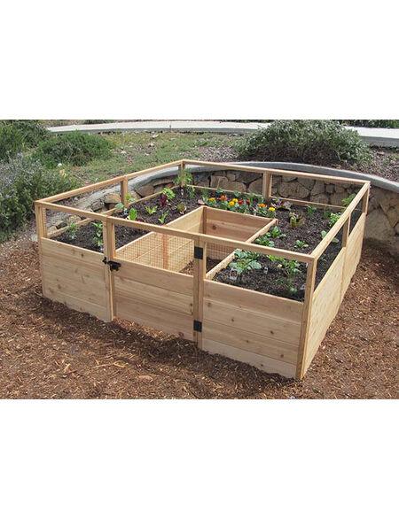 Outdoor Living Raised Garden Bed 8' x 8' | Gardener's Supp