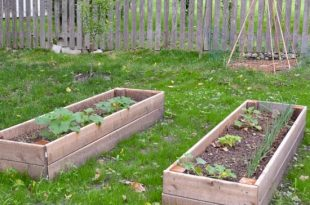 DIY Raised Garden Bed (and an easy soil mixture blend to fill it .