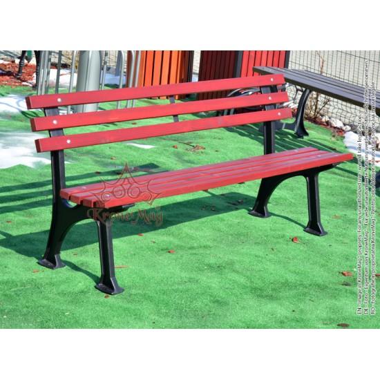 Cast Iron Garden Bench SOFIA-FR :: KroneM