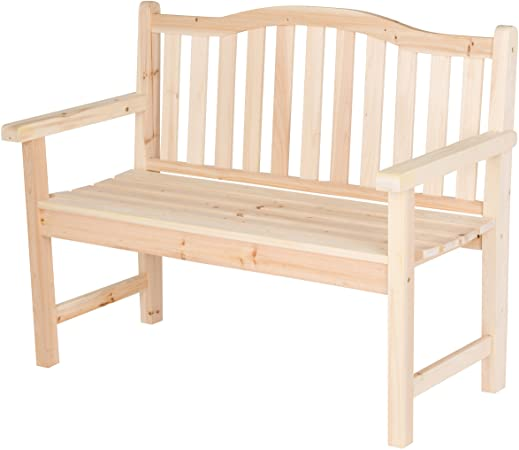 Amazon.com : Shine Company Inc. 4212N Belfort Garden Bench .