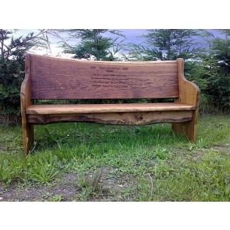 Memorial Garden Benches - Ideas on Fot