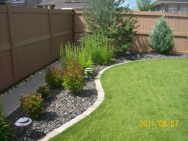 Landscaping Borders Edging | Front yard landscaping, Backyard .