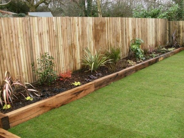 17 Fascinating Wooden Garden Edging Ideas You Must See | Wooden .