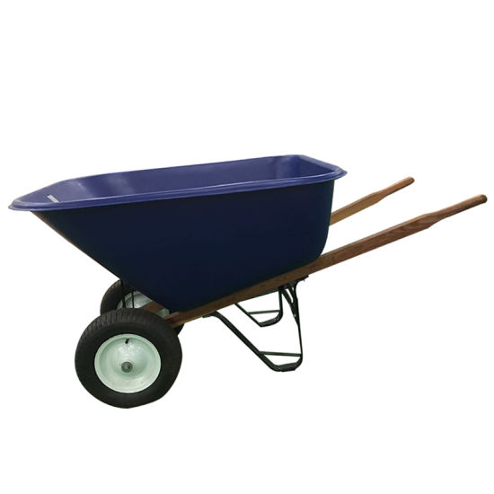 China Wh9600 Two Wheel Heavy Duty Garden Cart Wheelbarrows - China .