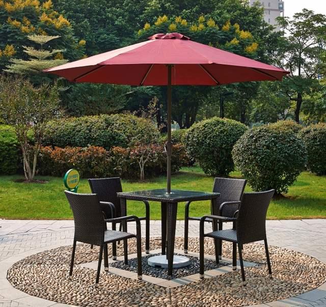 courtyard garden chairs leisure outdoor sun umbrellas patio .