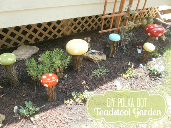 Craftaholics Anonymous® | DIY Garden Decor: Whimsical Toadstoo