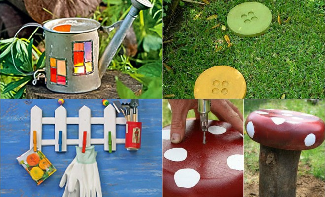 DIY garden decor ideas - 6 projects for yard and pat