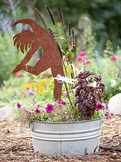 Creative Handmade Garden Decorations, 20 Recycling Ideas for .
