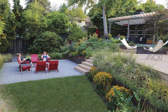 Contemporary Cool: A Lush Modern Garden Design - FineGardeni