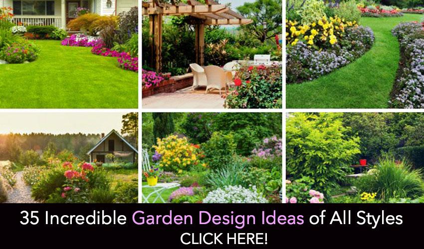 35 Incredible Garden Design Ideas of All Styles - Garden Lovers Cl