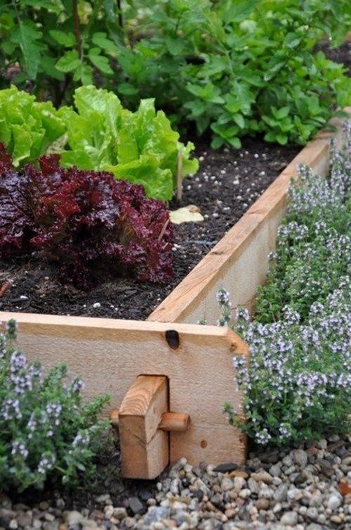 25 Garden Edges and Borders   Garden edging, Garden beds, Garden .