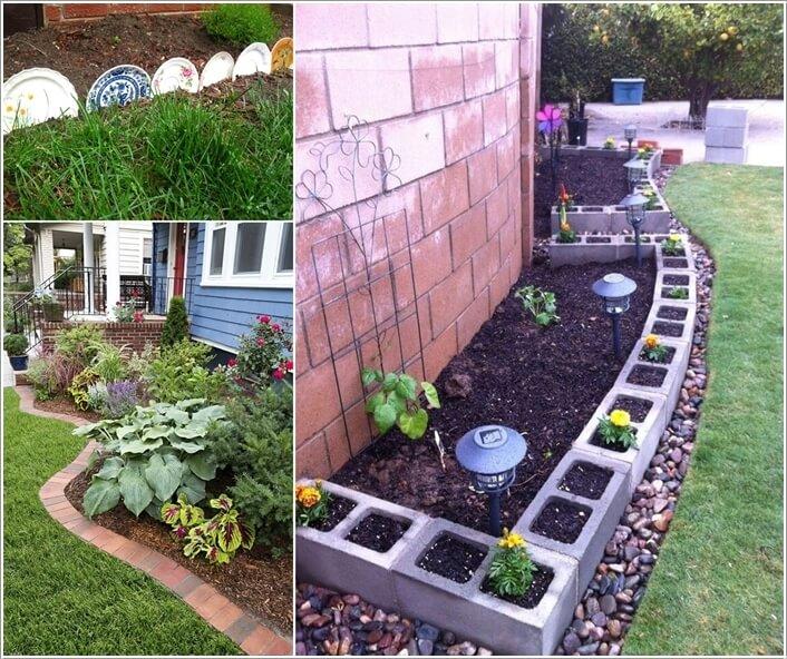 Creative Garden Edging Ide