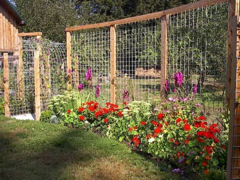 20+ Amazing Vegetable Garden Fence Ideas - Page 2 of