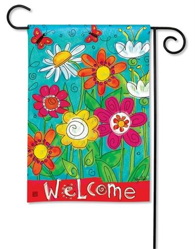 Welcome Blooms BreezeArt Garden Fl