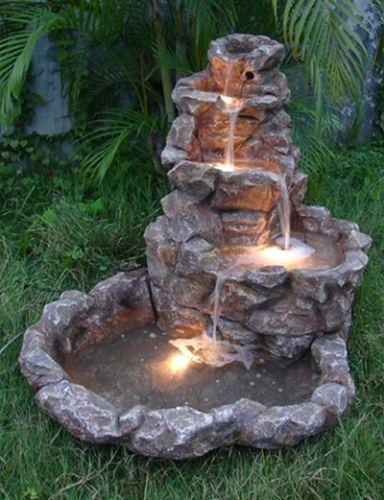 10 Most Basic Tips for Garden Fountain Care | Backyard water .