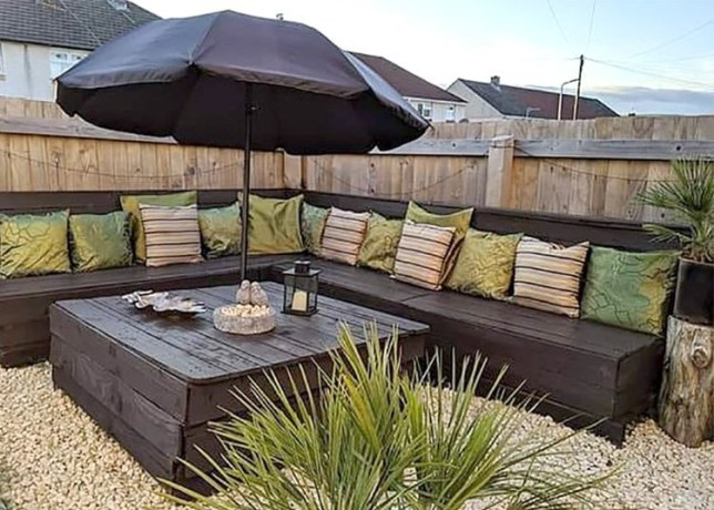 Woman impresses Facebook with her DIY garden furniture | Metro Ne
