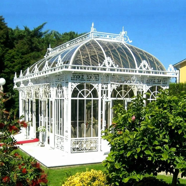 Large Garden Gazebos Wrought Iron Greenhouse For Sale - Buy .