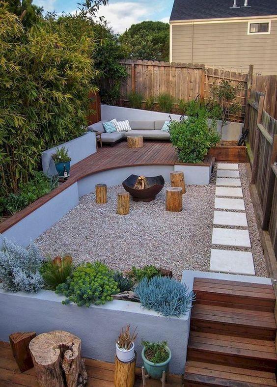 16 Bright Backyard Garden Ideas with Minimum Budget for .