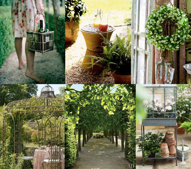 Inspiration Board #56: A Secret Garden - Los Angeles Prop Styli