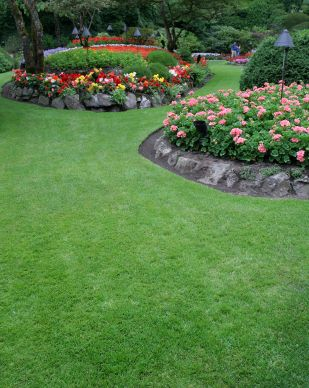 Flower Garden Landscape Design Can Accent Your Home with Col