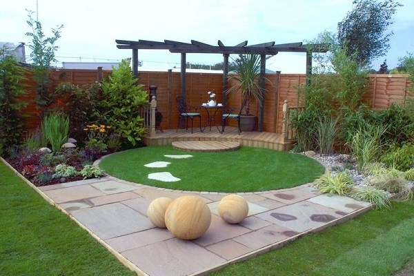 Design and decorate your small garden landscape - Ideas by Mr Rig