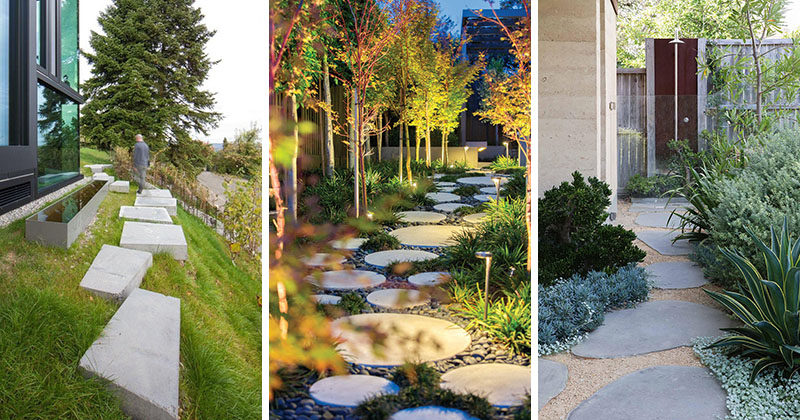 10 Landscaping Ideas For Using Stepping Stones In Your Gard