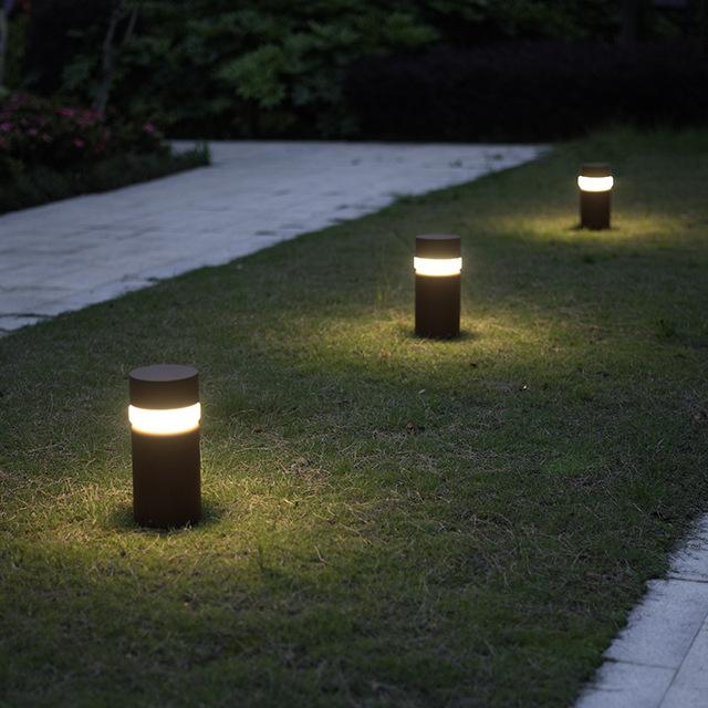 1724A-250, China Led garden lights bollard light outdoor light .