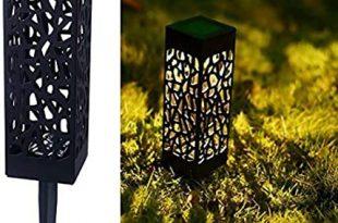 Amazon.com : Maggift 8 Pcs Solar Powered LED Garden Lights .