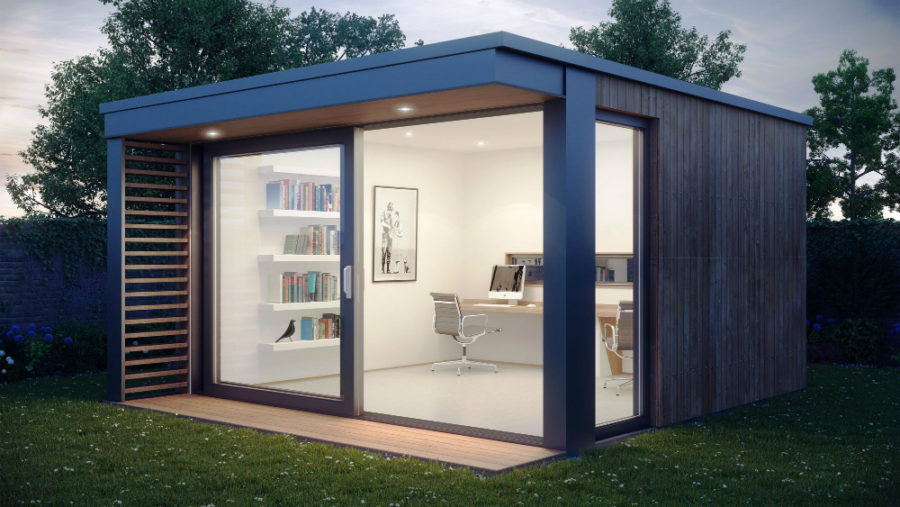 Modern Garden Office Shed: More than10 ideas - Home cosine