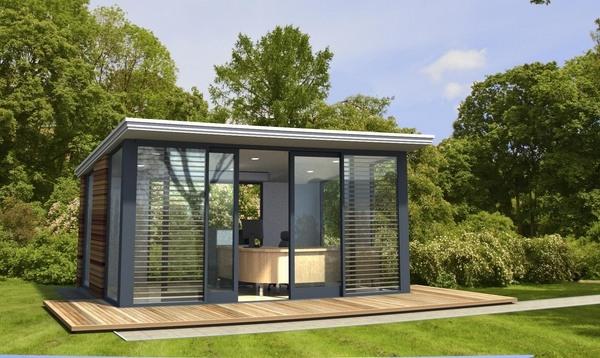 Garden office ideas – garden office pods and garden office sheds .