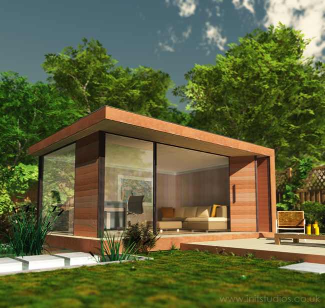 A Perfect Guide to Garden Office Furniture Design - Homey Improvemen