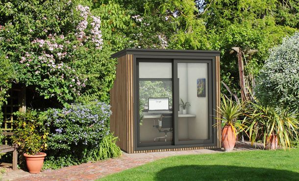 Garden Offices - Bespoke, Contemporary, Luxury Fully Insulated .