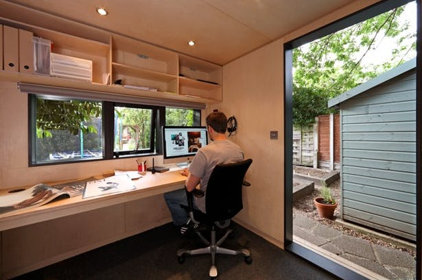 Contemporary Garden Office | in.it.studios | Archine
