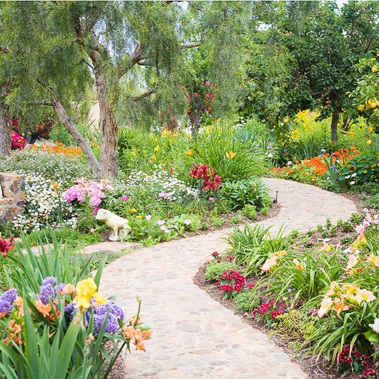 My Enchanting Cottage Garden: A Stroll Along the Garden Pa