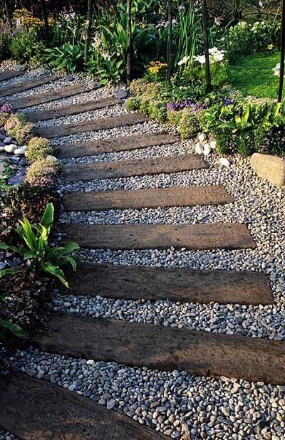 27 Easy and Cheap Walkway Ideas for Your Garden | Outdoor gardens .