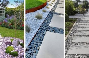 How To Make Garden Paths From Wood, Stone, Gravel? | Think Differe