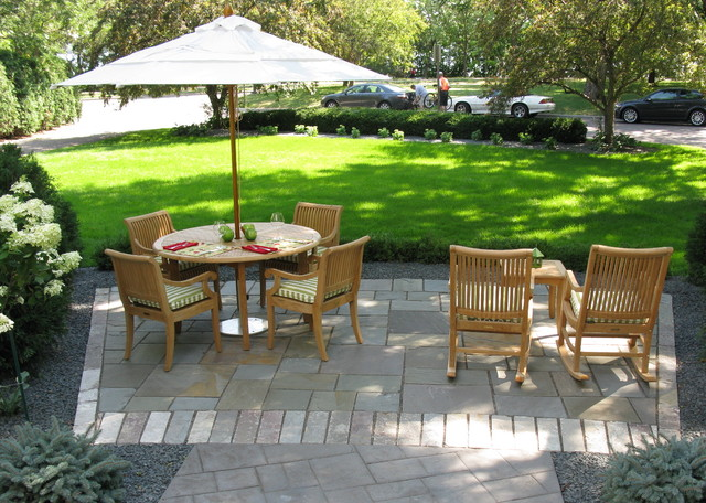 Front yard garden patio - Contemporary - Patio - Minneapolis - by .