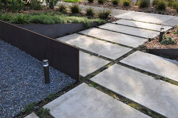 Materials Used for Garden Pavi