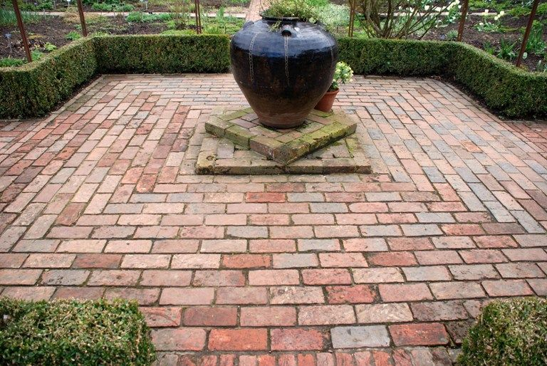 New Terrace? Which Paving? | Garden paving, Brick patterns patio .