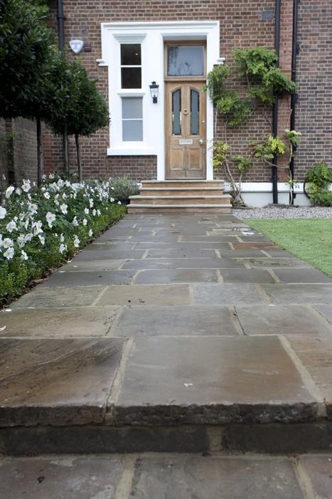 Reclaimed Yorkstone Paving | Garden paving, Garden landscaping .