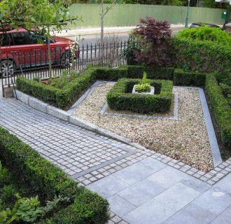 front garden paving ideas | Small garden design, Small front garde
