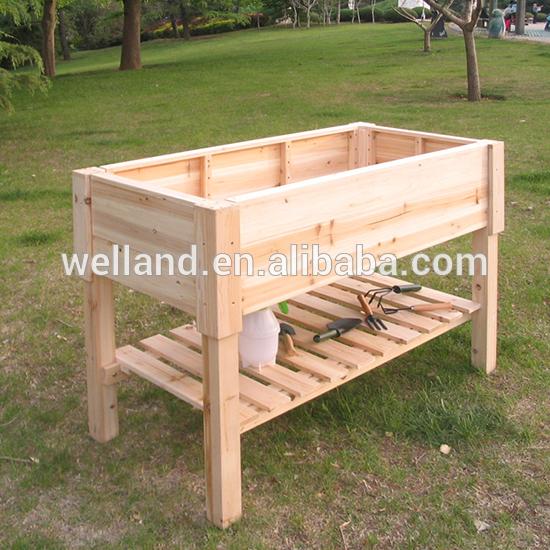 Raised Garden Planters Natural Cedar Wood Design - Buy Raised .