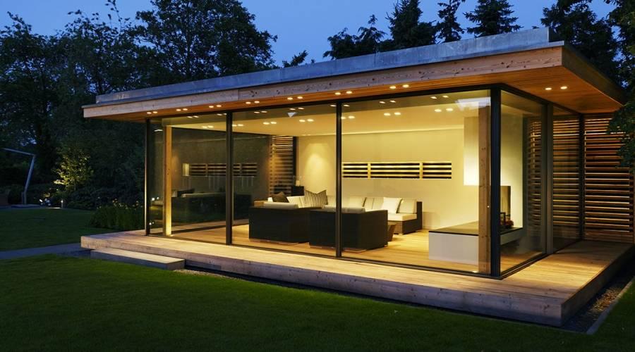 Slim Framed Sliding Glass Doors MW Garden Rooms | Projects | IQ Gla