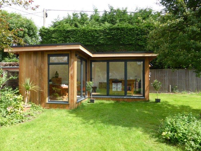 Corner Garden Room in England | Contemporary garden rooms, Garden .