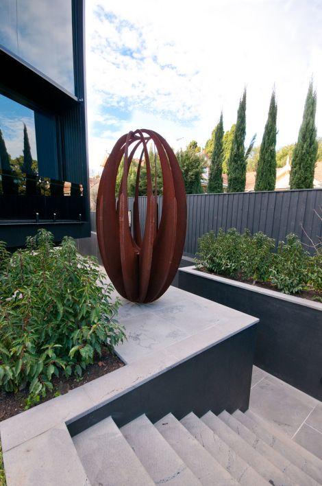 Eggular | Garden art, Metal sculptures garden, Metal garden a