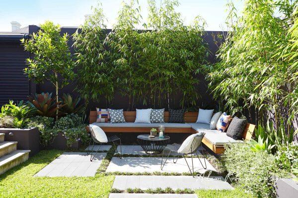Outdoor garden seating area - Little Piece Of