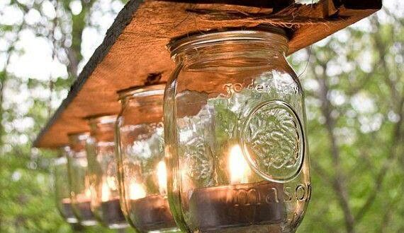 DIY Outdoor Lights for Perfect Garden Seating ideas - Diana Phone