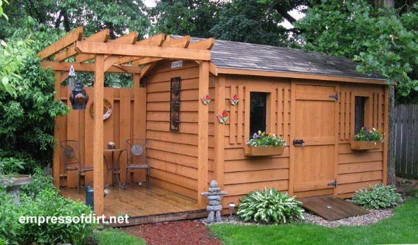 50 Creative Garden Shed Ideas | Backyard sheds, Shed design .