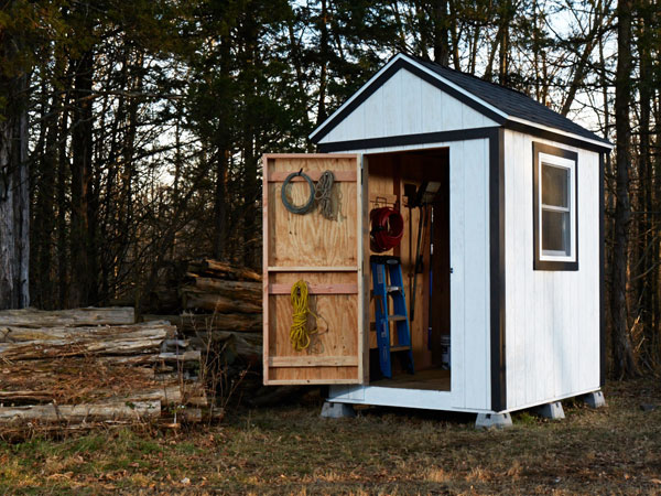 How To Build A Garden Shed From Scratch - Simple Plans With Lots .
